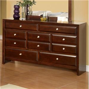 Lifestyle 9180 Drawer Dresser