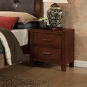 Lifestyle 9182 Nightstand - Item Number: B9182-20
