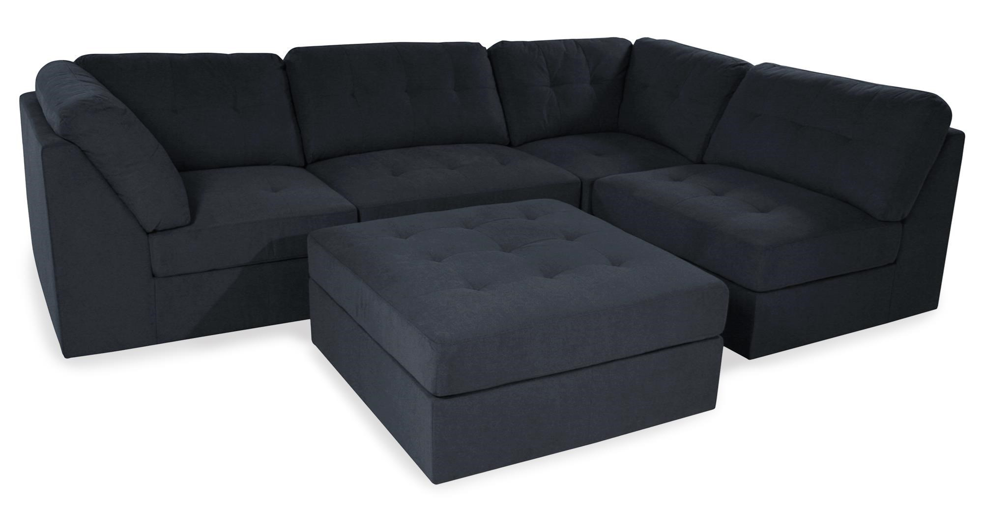 left by ashley design grey alloy signature sofas with piece products item modern sectional chaise sofa chamberly