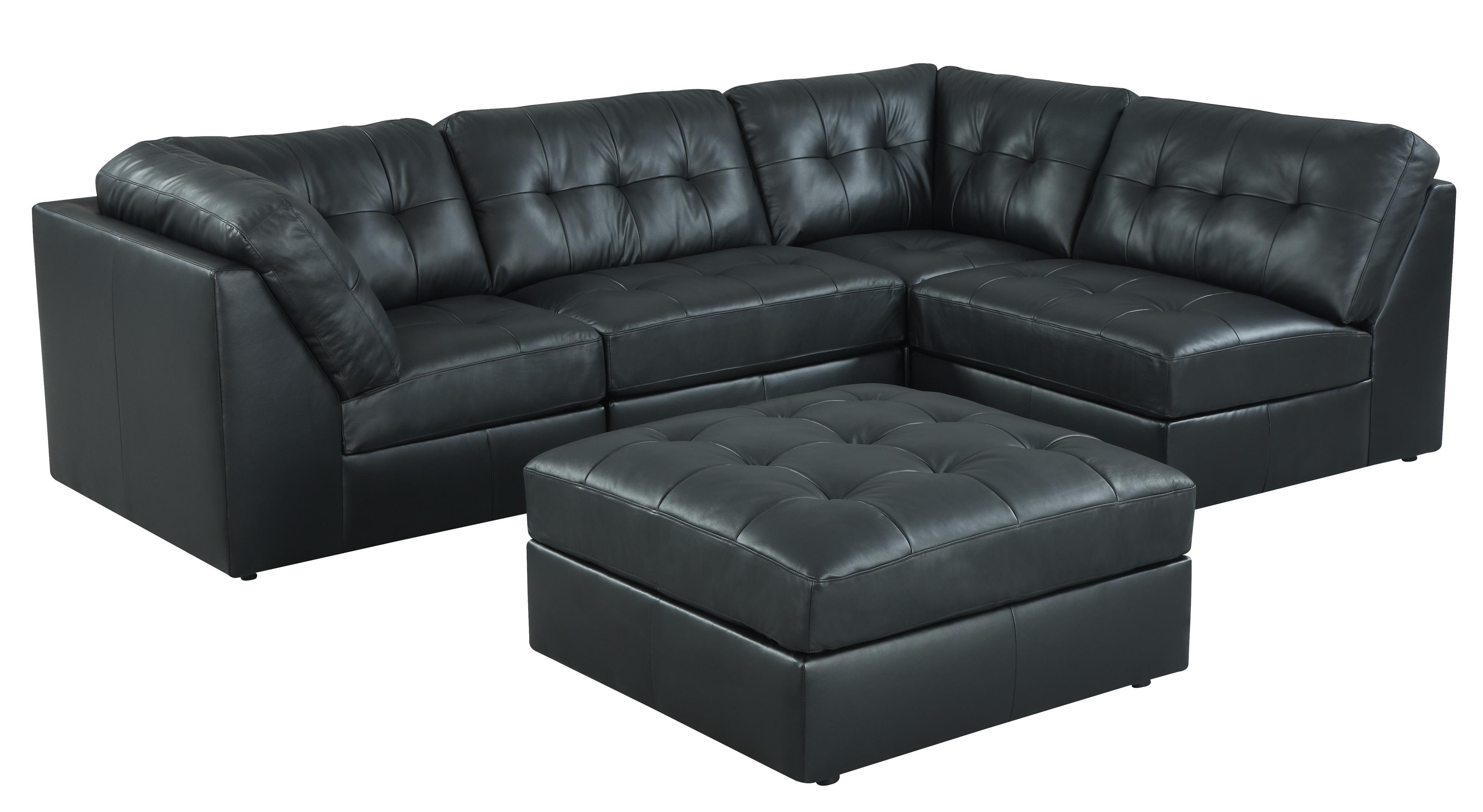 Lifestyle 9377 Sectional Sofa - Item Number: 9377 Black