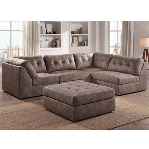 Exceptional Lifestyle 9377 Sectional Sofa