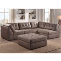 Lifestyle 9377 Sectional Sofa - Item Number: U9377X-20Ax2+2x90A+10X-SHPN