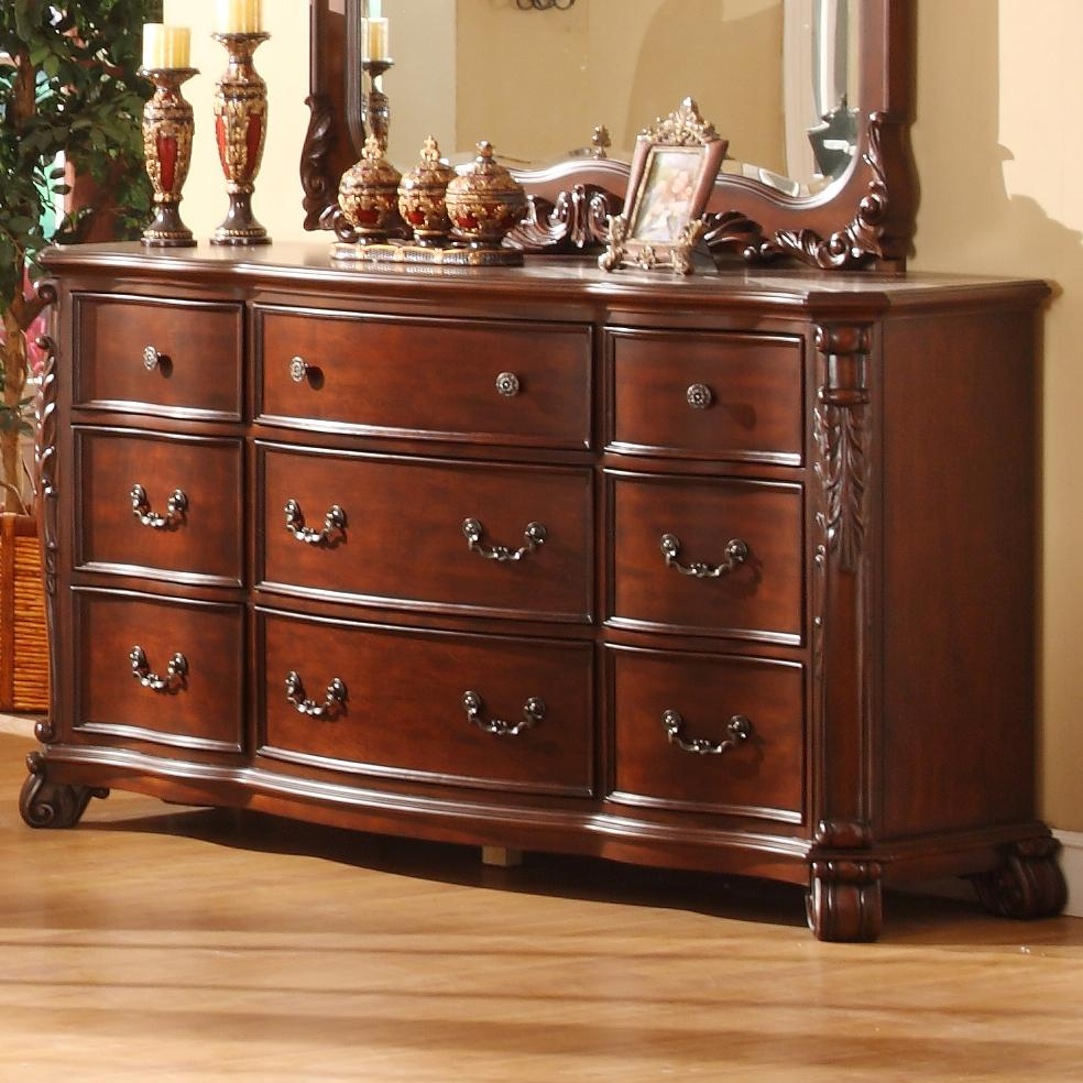 Lifestyle 9642 Dresser - Item Number: C9642A-040-9DCH