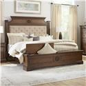 Lifestyle Amber King Upholstered Storage Bed - Item Number: C8430 King Bed