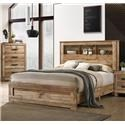 Lifestyle C8311A Full Storage Bed - Item Number: 589383125