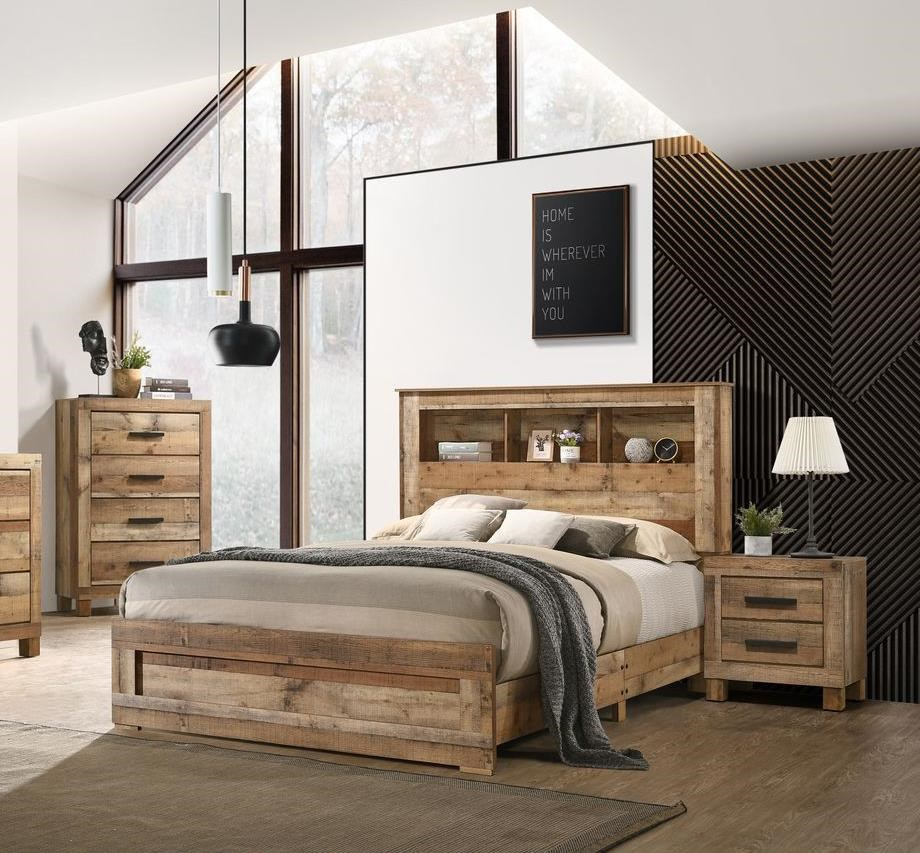 5 Piece Queen Storage Bedroom Group