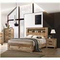 Lifestyle C8311A 5 Piece Queen Storage Bedroom Group - Item Number: 586383122