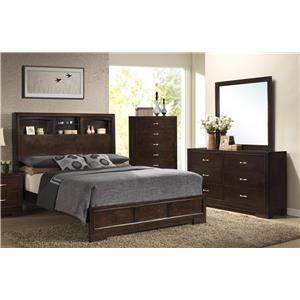 Lifestyle Bookie Queen 5-Piece Bedroom Group - B8100-QHF