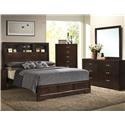 Lifestyle Bookie Queen 5 Pc Group - Item Number: B8100-QHF