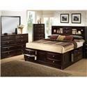 Lifestyle Todd Queen 5 Piece Bedroom Group - Item Number: 0172 Q 4-Piece Bedroom Group