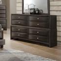 Lifestyle Todd Gray Dresser - Item Number: C7172A-040-8DXX