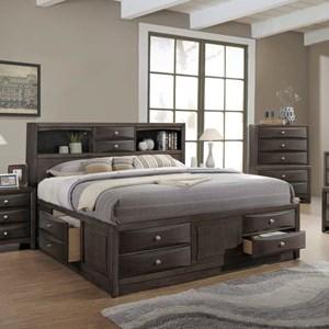 Lifestyle Todd Gray King/ California King Storage Bed