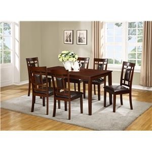 Lifestyle C1532 D D6X 7 Piece Table Set