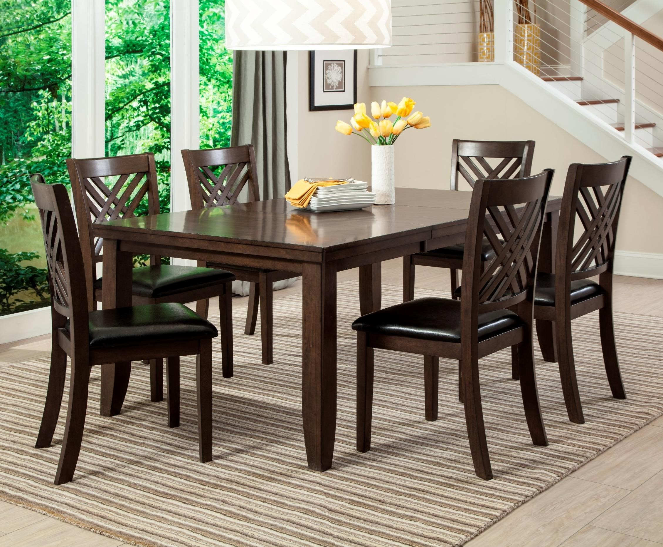 Lifestyle Cassidy 7 Piece Table Amp Chair Set With Butterfly