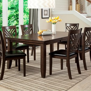 Lifestyle Cassidy Dining Table with Butterfly Leaf