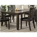Lifestyle Cassidy Dining Table with Butterfly Leaf - Item Number: C1632D-DTX-1BXX
