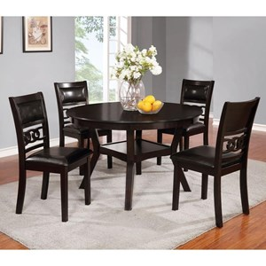 Lifestyle C1639 Dining Table and Four Chairs