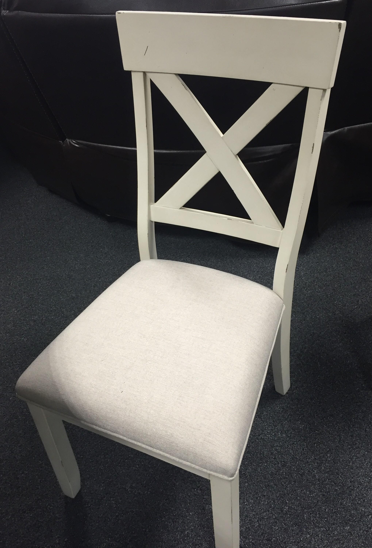 C1855Dwht-brn Side Chair by Lifestyle at Furniture Fair - North Carolina