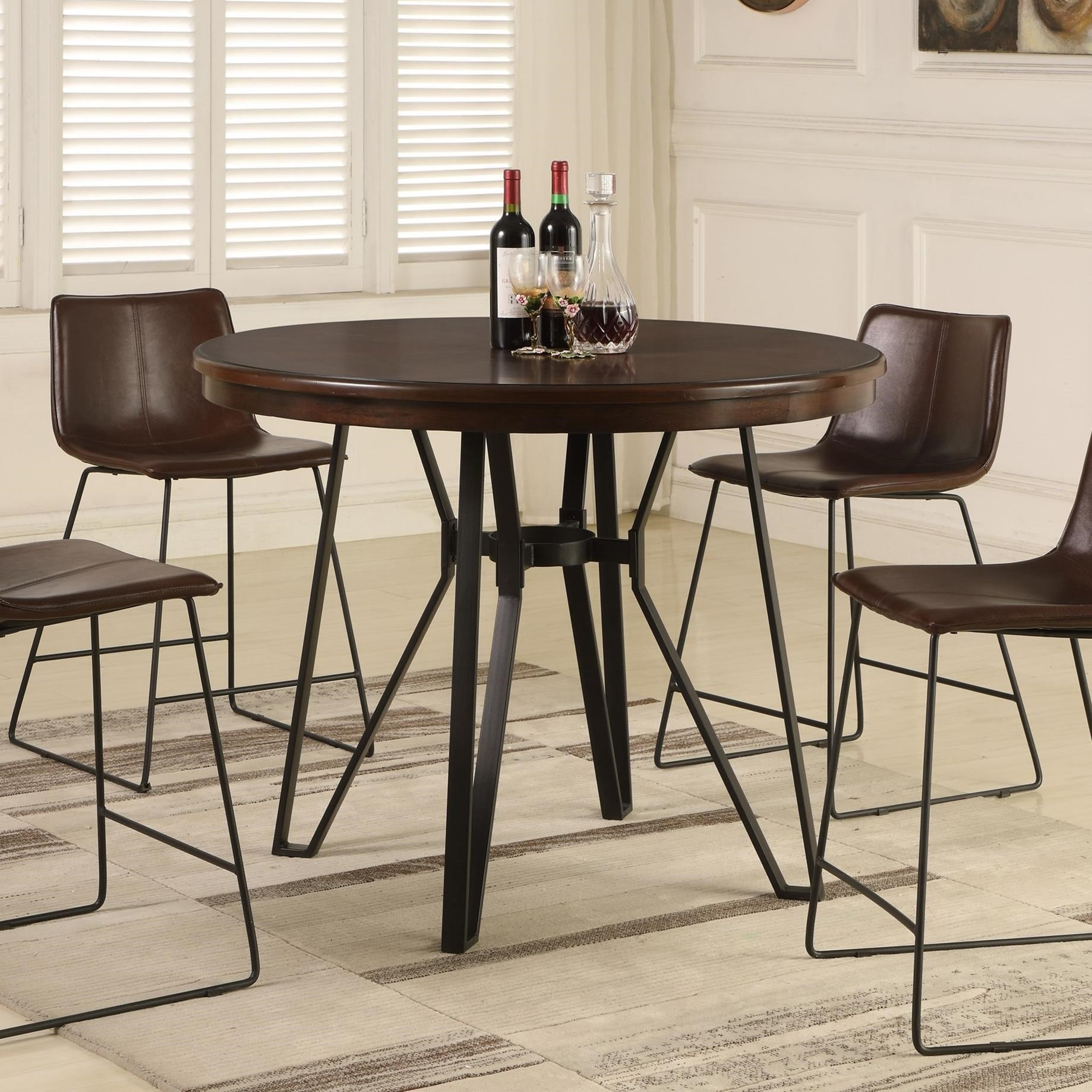 Lifestyle C1860P C1860P-PTX Industrial Pub Table With