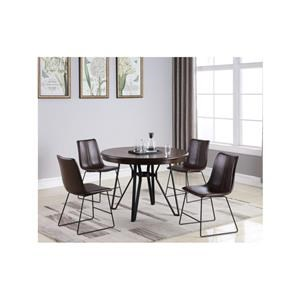 5 Piece Dining Set with Round Table