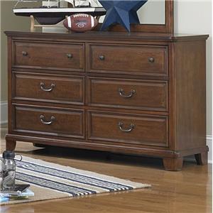 Lifestyle C2120 6-Drawer Dresser