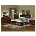 Lifestyle Millie Queen 5 Piece Bedroom Group - Item Number: C2192 Q 4-Piece Bedroom Group
