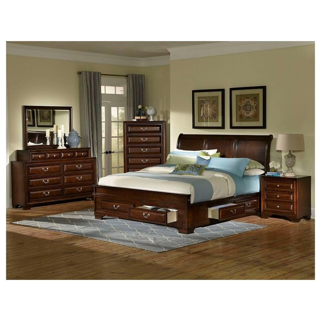 C2192 Queen Bedroom Group by Lifestyle at Furniture Fair - North Carolina