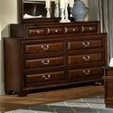 Lifestyle Millie 10 Drawer Dresser - Item Number: C2192R-040-10XX