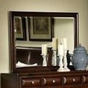 Lifestyle Millie Mirror with Wood Frame - Item Number: C2192R-050-MBXX
