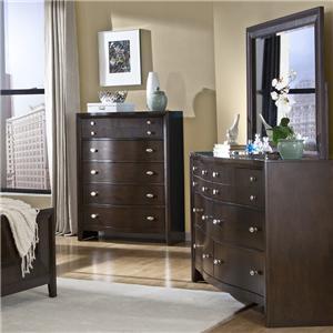 Lifestyle C3112 Dresser and Mirror