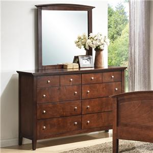 Lifestyle C3136 Dresser and Mirror
