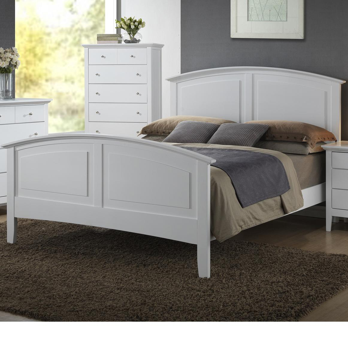 Twin Wood Bed