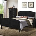 Lifestyle C3236A Full Wood Bed - Item Number: C3236A-FXB+YXN