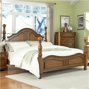 Lifestyle C3146A King Panel Wood Bed
