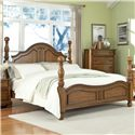Lifestyle C3146A King Panel Wood Bed - Bed Shown May Not Represent Size Indicated
