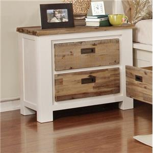 Lifestyle Tommy Nightstand W/ Full Extension Drawer Glides