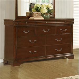 Lifestyle C4116A 10-Drawer Dresser