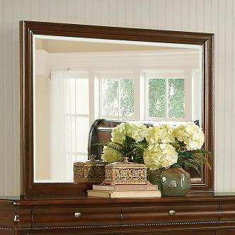 C4116A Beveled Mirror by Lifestyle at Furniture Fair - North Carolina
