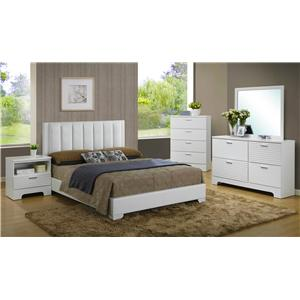 Lifestyle Sami 4-Piece King Bedroom Set