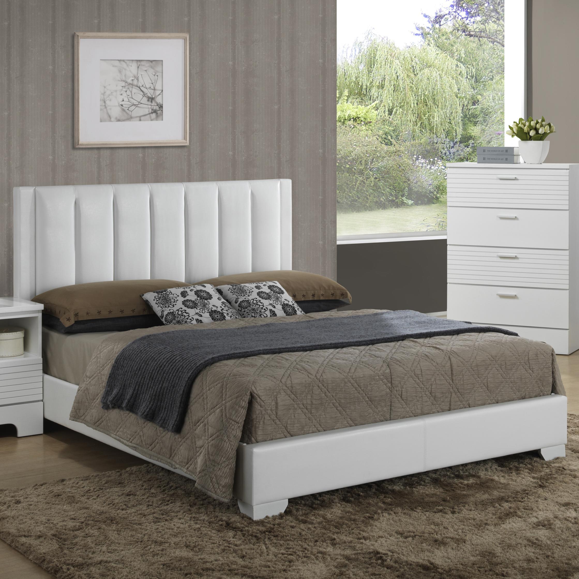 Lifestyle Sami King Panel Bed - Item Number: C3333A-KU0+K30+BUN-WUXX