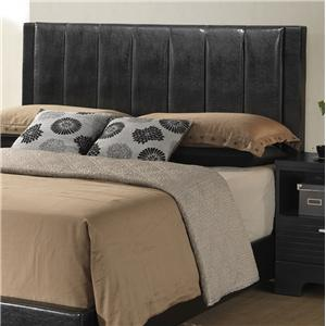 Lifestyle C4333A Contemporary Upholstered California King Headboard