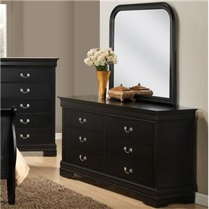 Lifestyle C5934 Dresser and Mirror