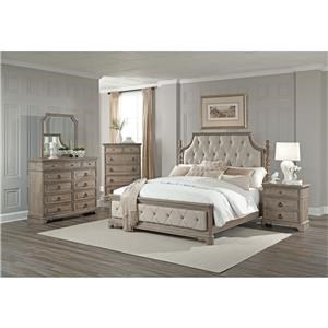 Lifestyle Pearl King 5 Piece Bedroom Group