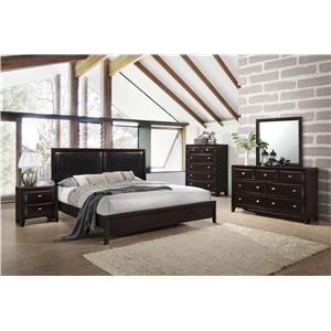 Lifestyle Jessgal 6-Piece Bedroom Group