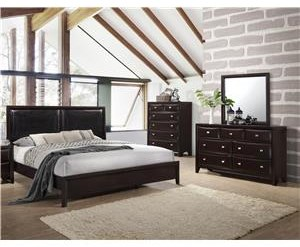 Lifestyle Jessgal Queen 5 Piece Bedroom Group - C6498-HSFL
