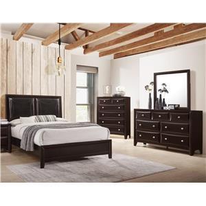 Lifestyle Jessgal Queen 5 Piece Bedroom Group - C6498-HSFL