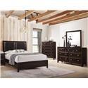 Lifestyle Jessgal Queen 5 Piece Bedroom Group - Item Number: C6498-HSFL