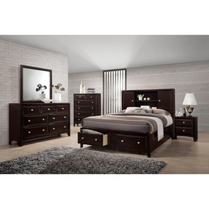 Lifestyle C6498A Queen Bedroom Group