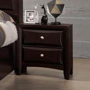 Lifestyle Providence 2 Drawer Nightstand