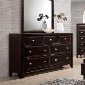 Lifestyle C6498A 7 Drawer Dresser